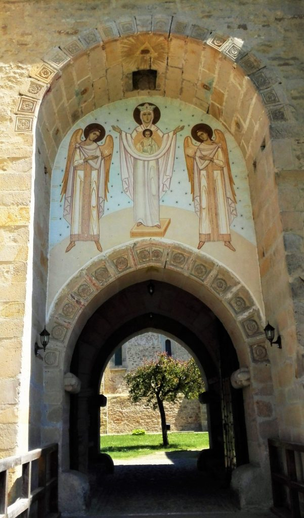 manastirea dragomirna romania wow