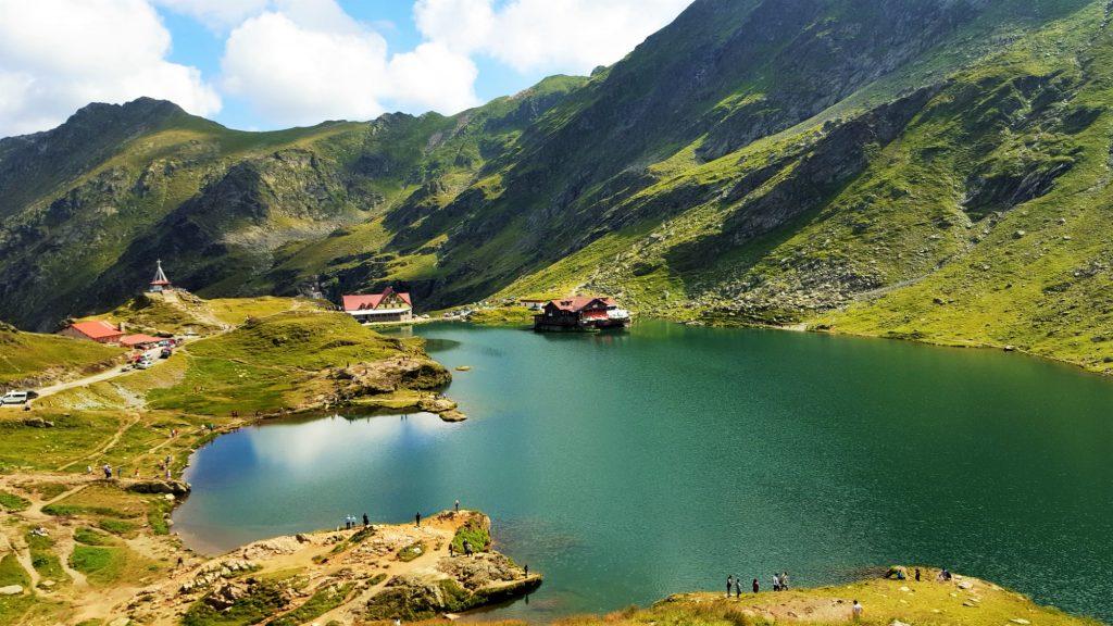 Lacul Balea Transfagarasan