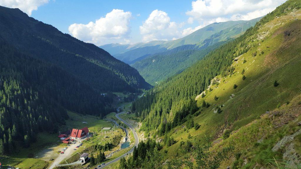 Transfagarasan road Romania
