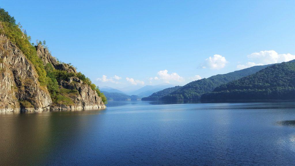 Vidraru Lake Dam Romania